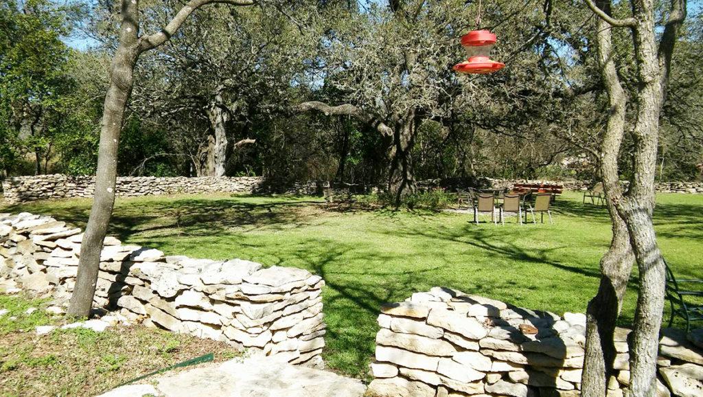 Back Lawn Area